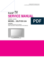 Lg Lcd Tv 32lp1dc_al-04ca Service Manual