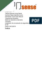 Proyecto OPNSense