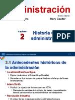 TEMA 02 ROBBINS HISTORIA DE LA ADMINISTRACION