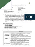 PROGRAMA CURRICULAR   ANUAL   DEL  ÁREA DE MATEMÁTICA DE 6TO. PRIMARIA Y 1RO. DE SECUNDARIA.docx