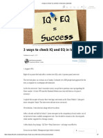 3 ways to check IQ and EQ in Interview _ LinkedIn
