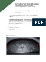 Conexion Tacometro Fiat Punto