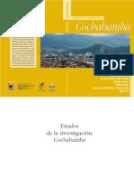 estado de la investigacion Cochabamba