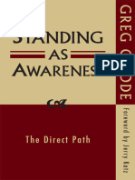 Greg Goode - Standing as Awareness - The Direct Path