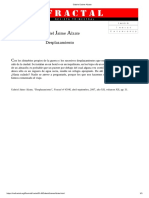 Desplazamiento-Gabriel Jaime Alzate