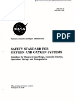 Safety Standard for Oxygen and Oxygen Systems