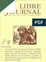 Libre Journal de la France Courtoise N°041