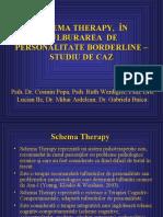Prezentare Schema Therapy