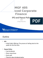 Advanced Corporate Finance Chapter 19