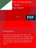 Elements of Literature in The Sniper_Ben Elznic