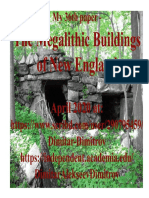 The Megalithic Buildings of New England. Author