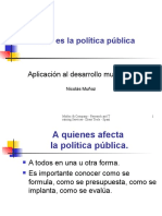 Tools-Public Policy Making
