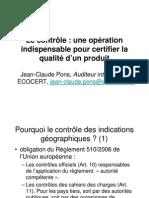 Contrôle - JC PONS - DC