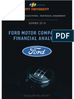 FORD FINANCIAL ANALYSIS