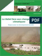 Le Sahel Face aux Changements Climatiques