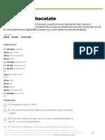 Panforte de chocolate _ Receitas _ Pingo Doce