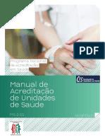 manual de acreditação - hospitais