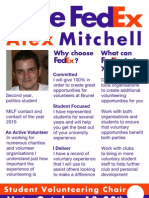 """Vote Alex """"FedEx"""" Mitchell Manifesto"""