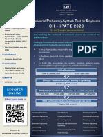 CII-iPATE-2020
