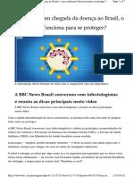Coronavírus - com chegada da doença ao Brasil, o que realmente funciona para se proteger
