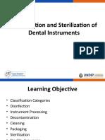 Disinfeksi dan Sterilisasi Instrumen Dental