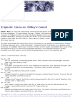 A Special Issue on Halley's Comet