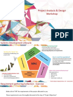 Project Analysis & Design Workshop