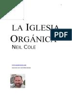 traducción_La iglesia orgánica_Neil Cole