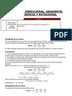 4.10 Derivada Direccional Gradiente Diver Gen CIA y Rotacional