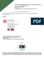 Ausschreibung - IDM