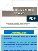 4. Justificacion y Marco Teórico