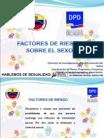 Módulo II Factores de riesgos sobre el sexo