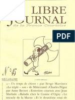 Libre Journal de la France Courtoise N°045