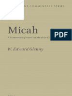 [Septuagint Commentary] W. Edward Glenny - Micah_ A Commentary Based on Micah in Codex Vaticanus (2015, Brill Academic Publishers).pdf