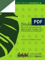 Dinámicas de los Conflictos Sociales y Políticos en el Macizo Andino Nariñense.