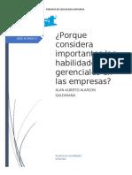 """""""Las Habilidades Gerenciales que requieren las Empresas hoy en Día"""""""