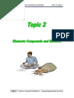 2_Elemetns, Compounds and Mixtures