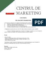 CONCURS - Cel mai bun marketer.doc