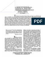 Abuse of Probability in Political Analysis.pdf