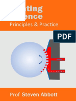 Printing Science Principles and Practice