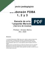 Bandoneon FOBA Proyecto 2020