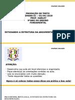PRODUÇÃO DE TEXTO 9º ANO 2ª SEMANA 0304.pptx