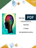 Neuropsicología actividad 3