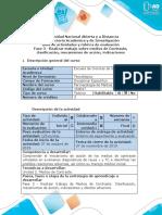 Guía de actividades y Rúbrica de evaluación - Fase 3 - Realizar trabajo sobre medios de contraste clásicos.docx