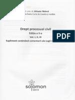 Drept procesual civil. Ed.2 - Mihaela Tabarca