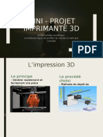 Mini - projet imprimante 3d