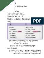 Grammar A2 CĐR