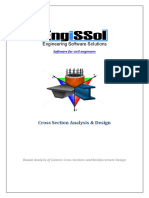 User Manual for Cross Section Analysis & Design