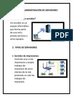 TIPOS Y ADMINISTRACIÓN DE SERVIDORES