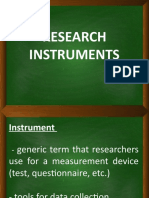 Research-Instruments.pptx